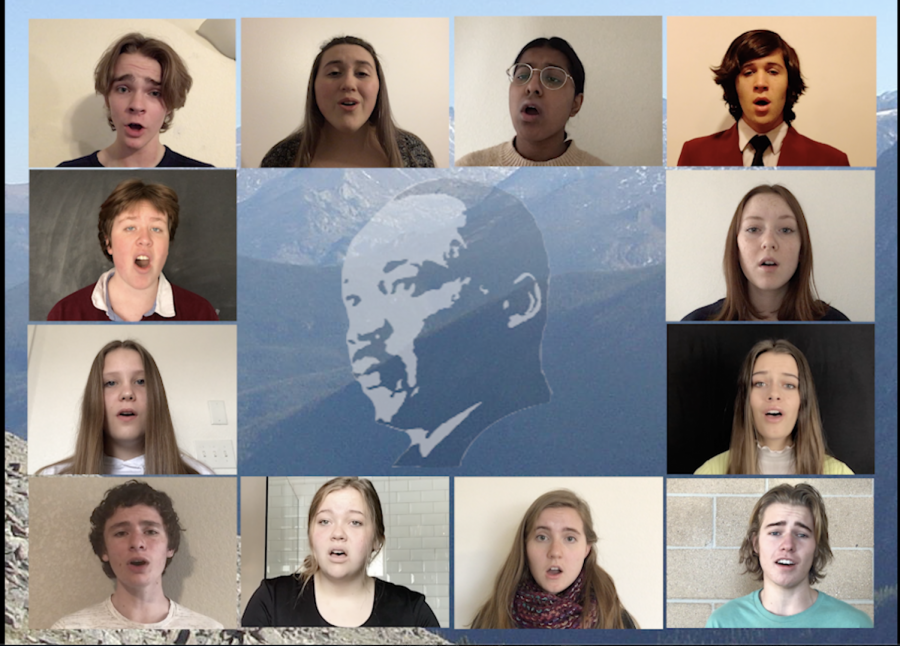 Up To The Mountain By Patty Griffin sung by Silver Creek's Chamber Singers